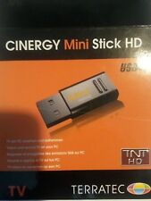 TerraTec Cinergy Mini USB Stick HD tv DVB-C/T FreeView with Remote Control