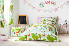 Le Farm Childrens Single Duvet Quilt Cover Set & Pillowcase Kids Girls Bedding