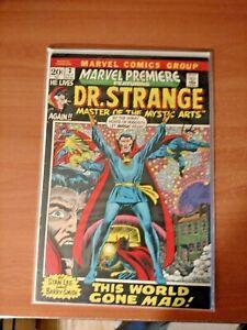 Marvel Premiere #3 Dr. Strange Fine (1972) / 1st Dr. Strange in Title