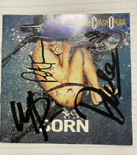 Boom Crash Opera Autographed CD Cover