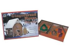 Gingerbread House Cookie Cutter Bake Set with Instructions