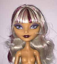 Ever After High Original Melody Piper Nude Doll Platinum Blonde NEW to OOAK Play