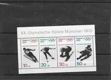 "Germany BRD 1971 Mi 684-687 Block 6 - ""Olympische Spiele 1972"" - MNH"