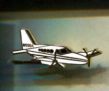 RARE PINS PIN'S .. AVION PLANE AIRLINES AERO CLUB AVIATEUR BIMOTEUR BEECH 58 ~CW