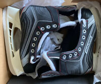 Bauer Vapor X200 Youth Kids Junior Hockey Ice Skates Size 2, Shoe Size 3.0