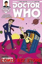 DOCTOR WHO THE TENTH DOCTOR YEAR TWO #2 (2015) 1ST PRINT SMITH VARIANT CVR TITAN