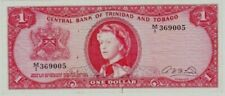 TRINIDAD & TOBAGO OIL RIG BILL $1 Dollar ( P26a ) 1964