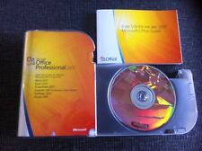 Office Professional 2007, Retail, Deutsch, Zweitnutzungsrecht mit MwSt Rechnung