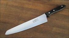 Larger Vintage HOFFRITZ Japan Japanese Steel Santoku Chef Knife - RAZOR SHARP!