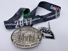 2017 Spartan Race New Jersey Ultra Beast Medal w/ Wedge