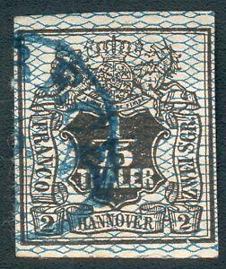 Hannover Mi.-Nr.11 o (MICHEL EURO 80,00) pracht