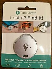 TrackR bravo Bluetooth Tracking Device iOs/Android Silver New in Sealed Packagee