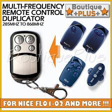 Remote Control Duplicator for NICE FLO1 FLO2 FLO4 Electric Gate Keyfob
