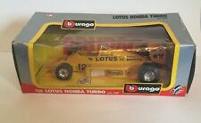 Burago 6107. Lotus Honda Turbo. Formula 1 / F1 Racing Car In Box 1/24 Scale