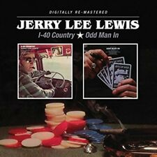 JERRY LEE LEWIS - I-40 COUNTRY/ODD MAN IN  CD NEUF