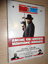 DVD N°9 I MITICI BUD SPENCER AND & TERENCE HILL ANCHE GLI ANGELS EAT BEANS