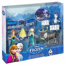 Disney Frozen Fever Birthday Party Small Doll Set Ages 3+ New Toy Anna Elsa Olaf