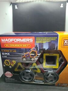 Magformers XL Cruisers Set 32 Pieces Magnetic Building Blocks Educational