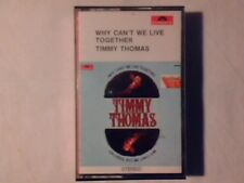 TIMMY THOMAS Why can't we live together mc cassette k7 ITALY RARISSIMA 1st PRESS