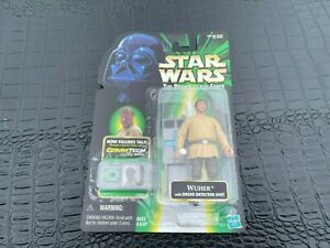1999 MOC Hasbro Star Wars Power of the Jedi Wuher Action Figure (S12-BX6)