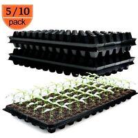 Divided Grids Germination Box Planting Nursery Pots Seeding Starter Tray Farming