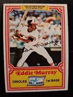 1981 Topps Drake's Cakes #6 Eddie Murray Baseball Card