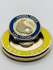 Angel Park Golf Club Vegas Imán De Oro Amarillo Azul Ball Marker Medallón de moneda