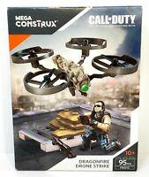 Mega Construx: Call of Duty Dragonfire Drone Strike FMG10 95 Pcs New Sealed