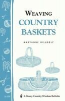 Weaving Country Baskets, Paperback by Gillooly, Maryanne, Like New Used, Free...