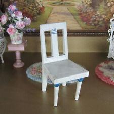 Antique Victorian GOTTSCHALK? CHAIR Dollhouse Bedroom Table Doll Furniture 1800s