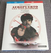 AEROPUERTO S O S VUELO SECUESTRADO COMBO BLURAY + DVD - SEAN CONNERY NEW SEALED
