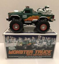 2007 HESS MONSTER TRUCK with MOTORCYCLES MINT - New in Box