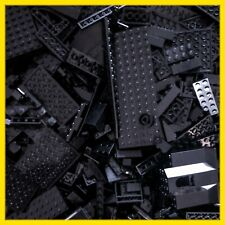 1 kg LEGO Konvolut schwarze Steine Platten Sonderteile Kilo Kiloware Schwarz