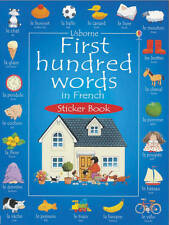 Usborne First 100 Words in French Sticker Book by Heather Amery