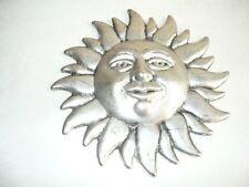 Soleil décoratif en laiton et argent fusion affiche