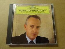 CD / BRAHMS - POLLINI - ABBADO: PIANO CONCERTO N° 2