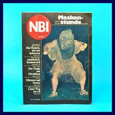 DDR-Zeitschrift NBI 32/1988 - Damen-Turnen Pionierpark Berlin Hiroshima Kettner