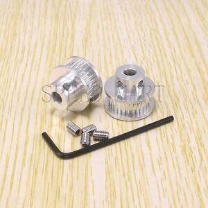 2pcs GT2 Timing Pulleys 28 Tooth 6mm Bore for RepRap Prusa Mendel 3D Printer