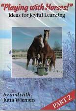 NEW SEALED PLAYING WITH HORSES Pt 2 Jutta Wiemers Natural Horsemanship DVD
