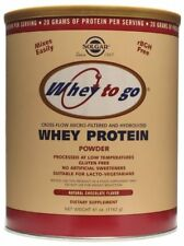 Solgar 1162 g Whey To Go Natural Chocolate Flavour Whey Protein Powder