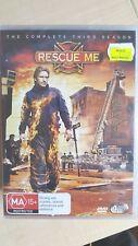 Rescue Me : Season 3 [4 DVD Set] NEW & SEALED, Region 4, FREE Next Day Post