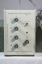 Knowles Company Industrial Research Products Mixer Remote Control De-207