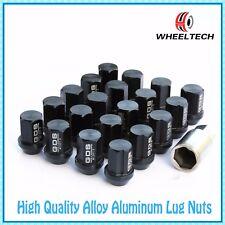 20pcs Black Aluminum tuner M12x1.5 35mm for HONDA FORD TOYOTA KIA Wheel Lug Nuts