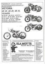 KA_VI_5  Kabelb Victoria KR 20, KR 25, KR 26 alle Modelle, KR 35 SS, SN, Pionier