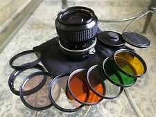Nikon Nikkor 28mm F2 PRIME Lens +Extras, EXCELLENT Condition. Read Description!