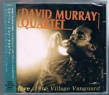DAVID MURRAY QUARTET LIVE AT THE VILLAGE VANGUARD CD MADE IN JAPAN  SIGILLATO!!!