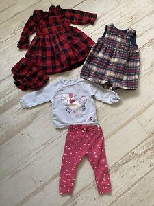 Baby Girl Christmas Bundle 6-9 Months Joules Nutmeg