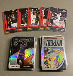 HUGE Lot of (45) LeBron James Cards Inserts And Base Cavs Lakers RARE