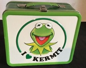 I Love Heart Kermit The Frog Metal Lunchbox Lunch Box The Muppets