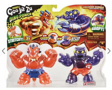 RARE Goo JIT Zu Dino Power Volcanic Rumble Redback Spider VS Blazagon Dragon